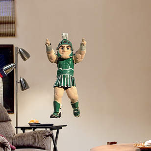 Michigan State Mascot Sparty - Fathead Jr.