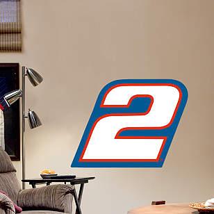 Brad Keselowski #2 Logo - Fathead Jr.