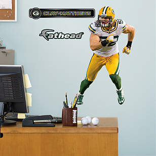 Clay Matthews Away - Fathead Jr.