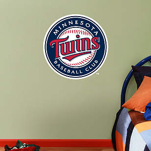 Fathead Jr. - Minnesota Twins Logo
