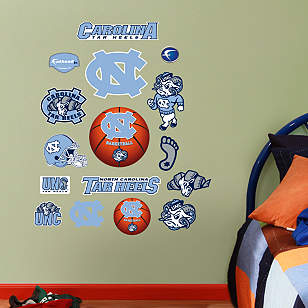 North Carolina Tar Heels - Team Logo Assortment