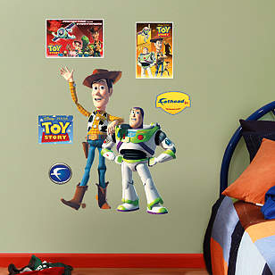 Woody & Buzz - Fathead Jr.