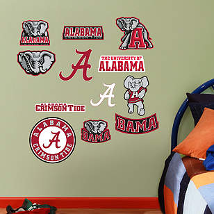 Alabama Crimson Tide - Team Logo Assortment