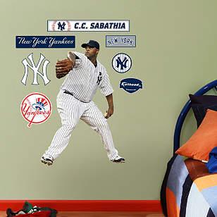 CC Sabathia - Fathead Jr.