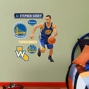 Stephen Curry - Fathead Jr.