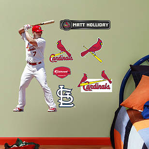 Matt Holliday - Fathead Jr.