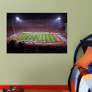 Ohio State Script Ohio Stadium Mural - Fathead Jr.