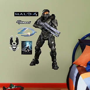 Master Chief: Halo 4 - Fathead Jr.