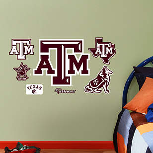Texas A&M Aggies - 2012 Team Logo Assortment