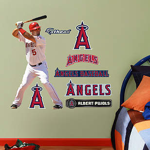 Albert Pujols - Home Fathead Jr.