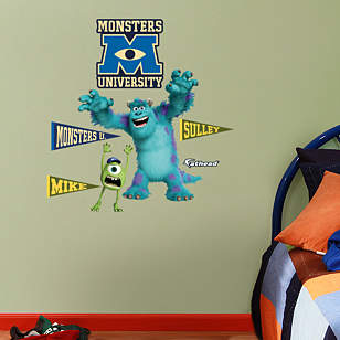 Mike and Sulley: Monsters University - Fathead Jr.