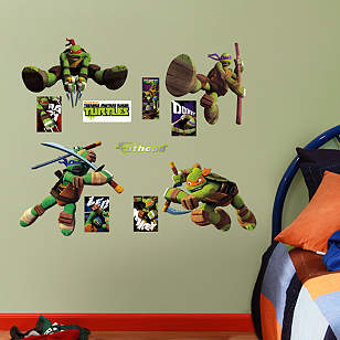 Teenage Mutant Ninja Turtles - Fathead Jr