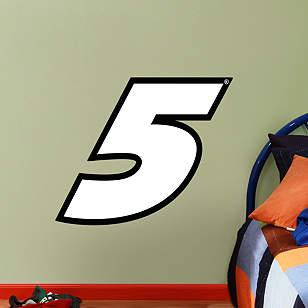Kasey Kahne #5 Logo - Fathead Jr.