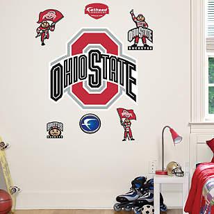 Ohio State Buckeyes Logo - Fathead Jr.
