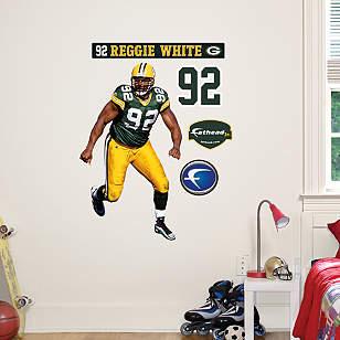Reggie White - Fathead Jr.