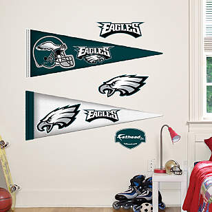 Philadelphia Eagles Pennants - Fathead Jr.