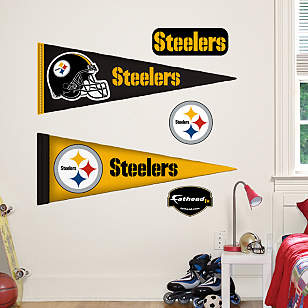 Pittsburgh Steelers Pennants - Fathead Jr.