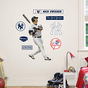 Nick Swisher - Fathead Jr.