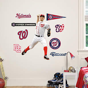 Stephen Strasburg - Home - Fathead Jr.