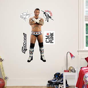 CM Punk - Fathead Jr.