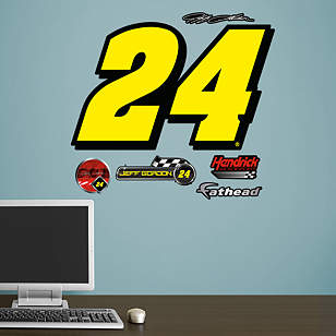 Jeff Gordon #24 Logo - Fathead Jr.