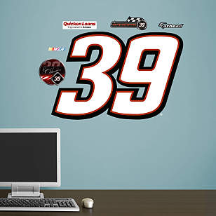 Ryan Newman #39 Quicken Loans Logo - Fathead Jr.