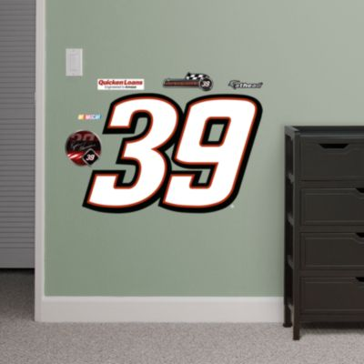 Dale Earnhardt Jr. #88 Logo - Fathead Jr. Fathead Wall Decal