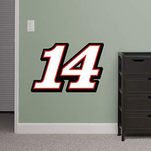 Tony Stewart #14 Logo - Fathead Jr.