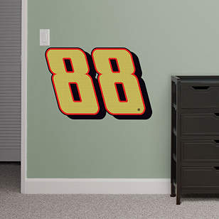 Dale Earnhardt Jr. Gold #88 Logo - Fathead Jr