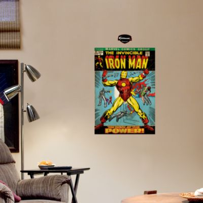 The Invincible Iron Man Cover Fathead Wall Decal