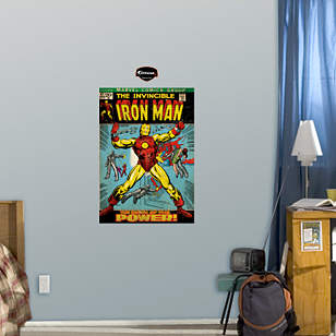 The Invincible Iron Man Cover