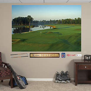 PGA TOUR TPC Louisiana Hole 18 Mural