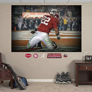 Mark Ingram Alabama Mural
