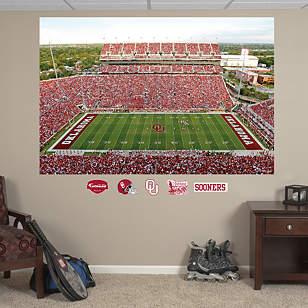 Oklahoma Sooners - Oklahoma Memorial Stadium Mural