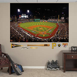 Pittsburgh Pirates 2013 Postseason Stadium Mural