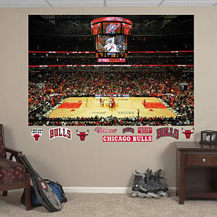 Chicago Bulls Arena Mural