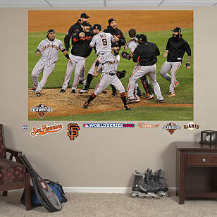 San Francisco Giants 2012 World Series Celebration Mural