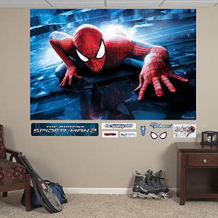 The Amazing Spider-Man 2 Crawl Mural