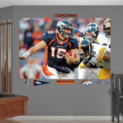 Tom Brady Diving Touchdown Mural