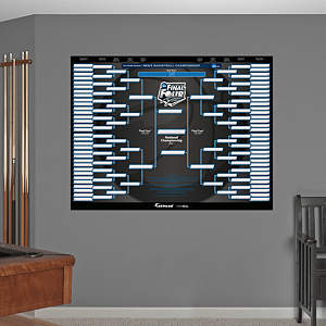 NCAA Tournament Bracket Wall Decal