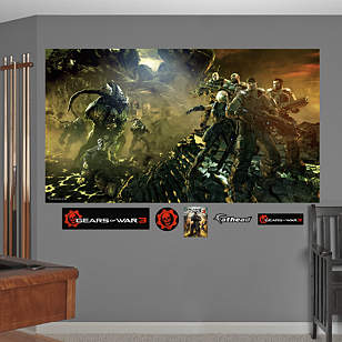 Gears of War 3: Battle Mural