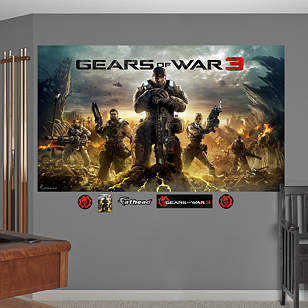 Gears of War 3: Game Cover Mural