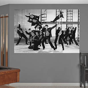 Elvis Presley – Jailhouse Rock Dance Mural