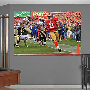 Alex Smith Playoff Rush – In Your Face Mural