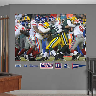 Giants Playoff Defense - In Your Face Mural