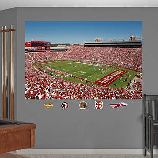 Florida State - Bobby Bowden Field at Doak Campbell Stadium Mural