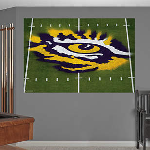 LSU - Eye of the Tiger Mural
