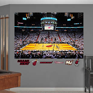 Miami Heat 2012 NBA Finals Stadium Mural