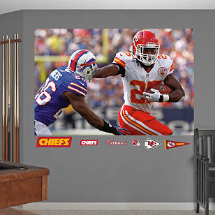 Jamaal Charles In Your Face Mural