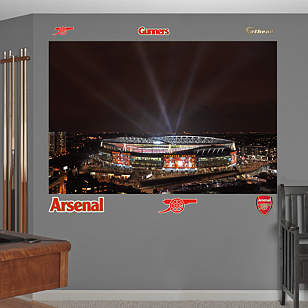 Night Sky Emirates Stadium Mural